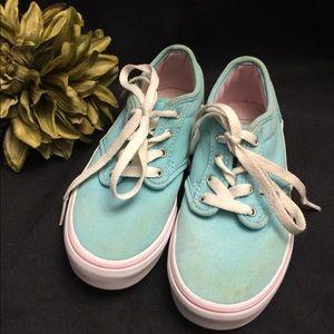 Vans-Robins Egg Blue w/Pink, Girl: 12.5